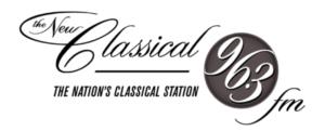 Classical 96 FM logo